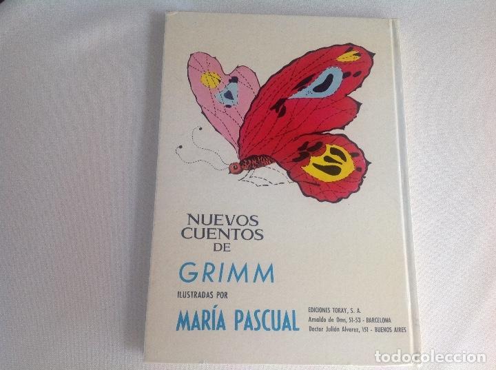 Libros antiguos: Nuevos cuentos de GRIMM ILUSTRACIONES MARÍA PASCUAL 1971 - Foto 2 - 177134547