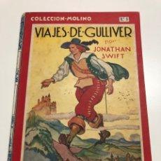 Libros antiguos: JONATHAN SWIFT. VIAJES DE GULLIVER. 1934. Lote 177186088