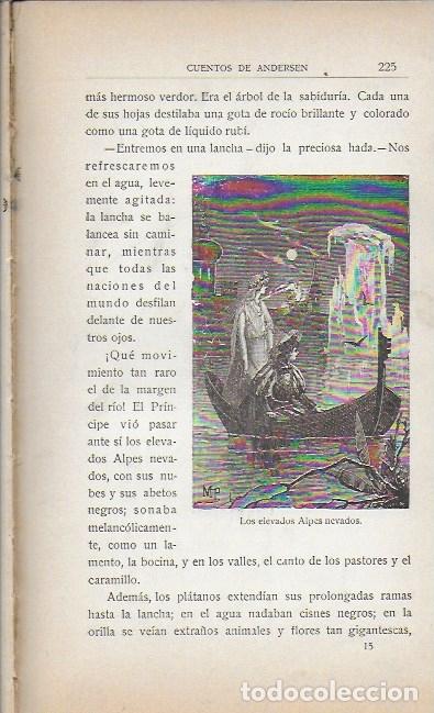 Libros antiguos: Cuentos de Andersen / Il. Huertas, Méndez-Bringa, Angel y Picolo. Madrid : Calleja, s.a. 23x15cm. - Foto 4 - 177403049