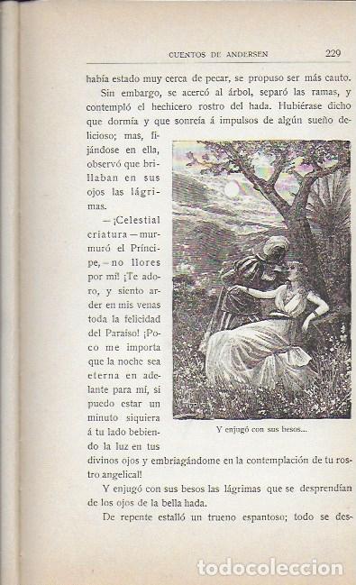 Libros antiguos: Cuentos de Andersen / Il. Huertas, Méndez-Bringa, Angel y Picolo. Madrid : Calleja, s.a. 23x15cm. - Foto 5 - 177403049