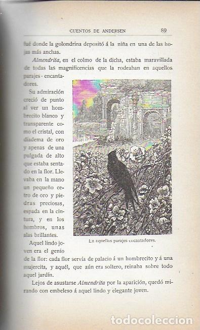 Libros antiguos: Cuentos de Andersen / Il. Huertas, Méndez-Bringa, Angel y Picolo. Madrid : Calleja, s.a. 23x15cm. - Foto 6 - 177403049