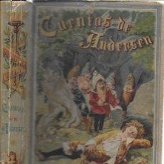 Libros antiguos: CUENTOS DE ANDERSEN / IL. HUERTAS, MÉNDEZ-BRINGA, ANGEL Y PICOLO. MADRID : CALLEJA, S.A. 23X15CM.. Lote 177403049