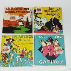 Libros antiguos: 4 CUENTOS INFANTILES ( MOLINO ). Lote 178044469