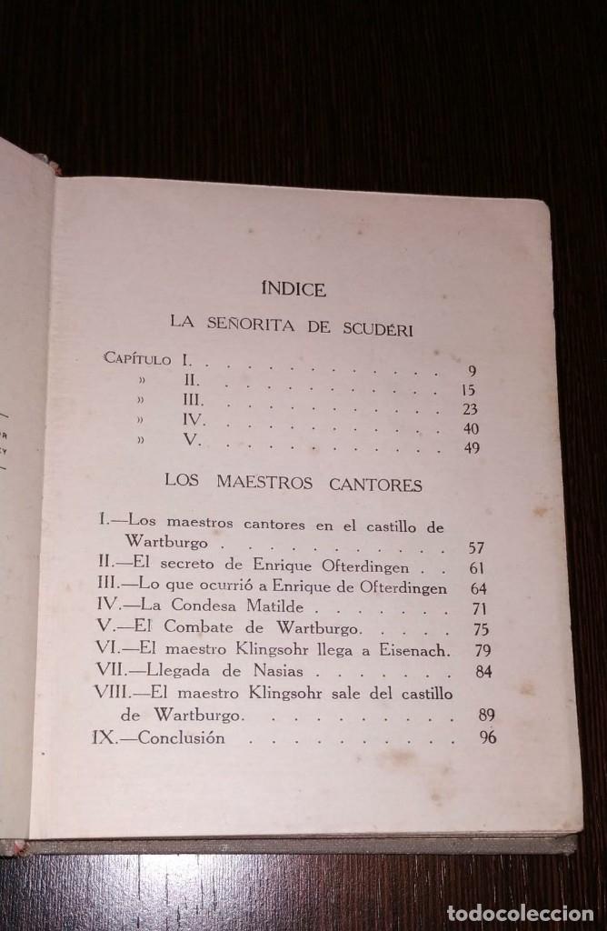 Libros antiguos: CUENTOS DE HOFFMANN. COLECCION ARALUCE. AÑO 1914. POR MANUEL VALLVÉ - Foto 4 - 178062632