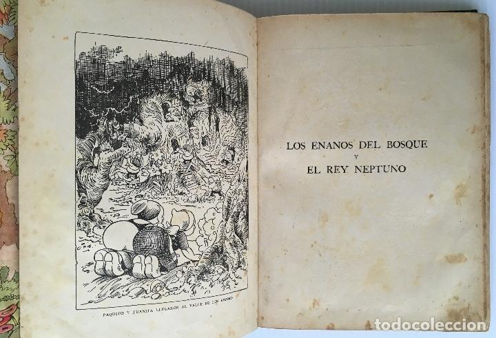 Libros antiguos: LOS ENANOS DEL BOSQUE Y EL REY NEPTUNO. WALT DISNEY. EDITORIAL MOLINO, 1935. - Foto 4 - 178325478