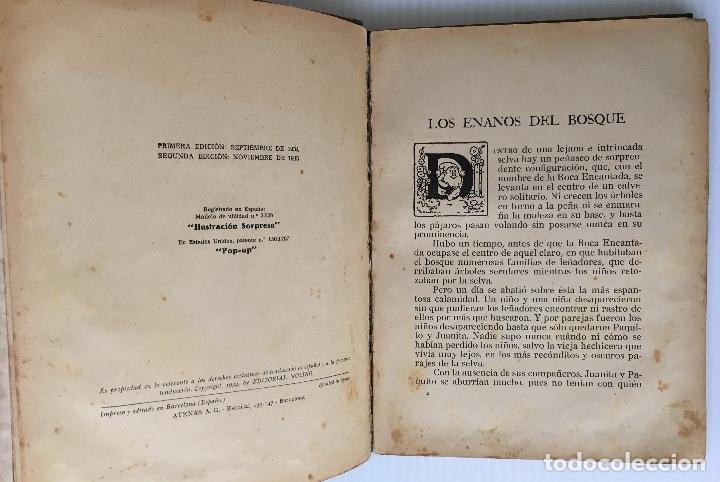 Libros antiguos: LOS ENANOS DEL BOSQUE Y EL REY NEPTUNO. WALT DISNEY. EDITORIAL MOLINO, 1935. - Foto 5 - 178325478