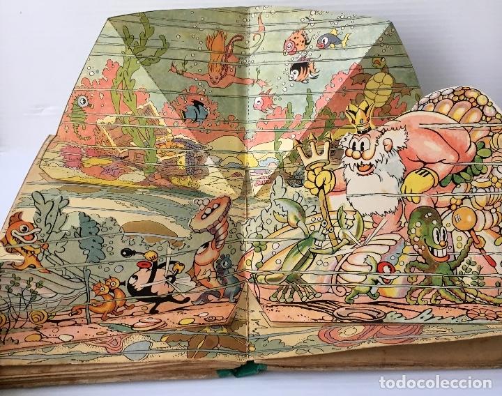 Libros antiguos: LOS ENANOS DEL BOSQUE Y EL REY NEPTUNO. WALT DISNEY. EDITORIAL MOLINO, 1935. - Foto 10 - 178325478
