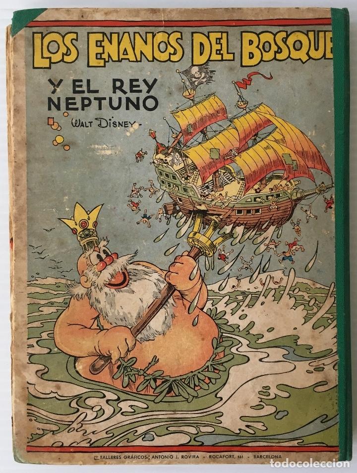 Libros antiguos: LOS ENANOS DEL BOSQUE Y EL REY NEPTUNO. WALT DISNEY. EDITORIAL MOLINO, 1935. - Foto 11 - 178325478