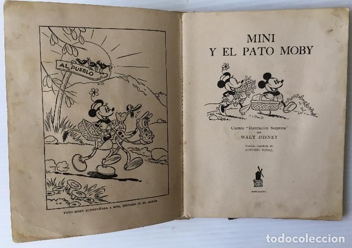 Libros antiguos: LOS ENANOS DEL BOSQUE Y EL REY NEPTUNO. WALT DISNEY. EDITORIAL MOLINO, 1935. - Foto 14 - 178325478