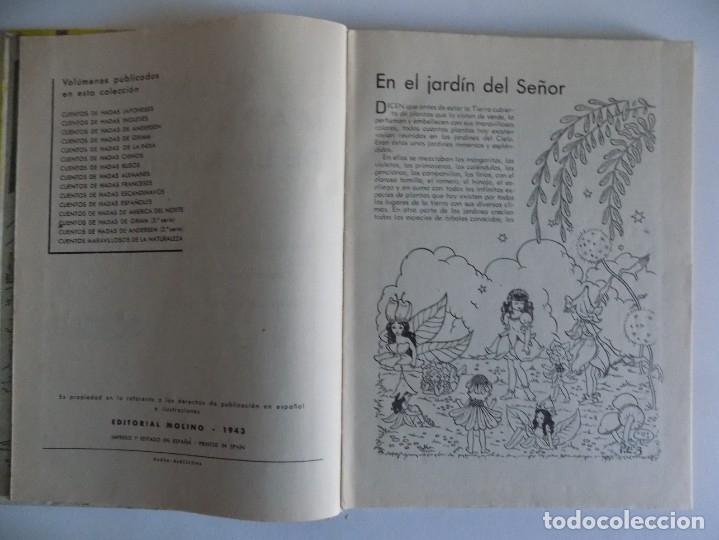 Libros antiguos: LIBRERIA GHOTICA. CUENTOS MARAVILLOSOS DE LA NATURALEZA.1943. FOLIO. MUY ILUSTRADO. - Foto 3 - 178335258