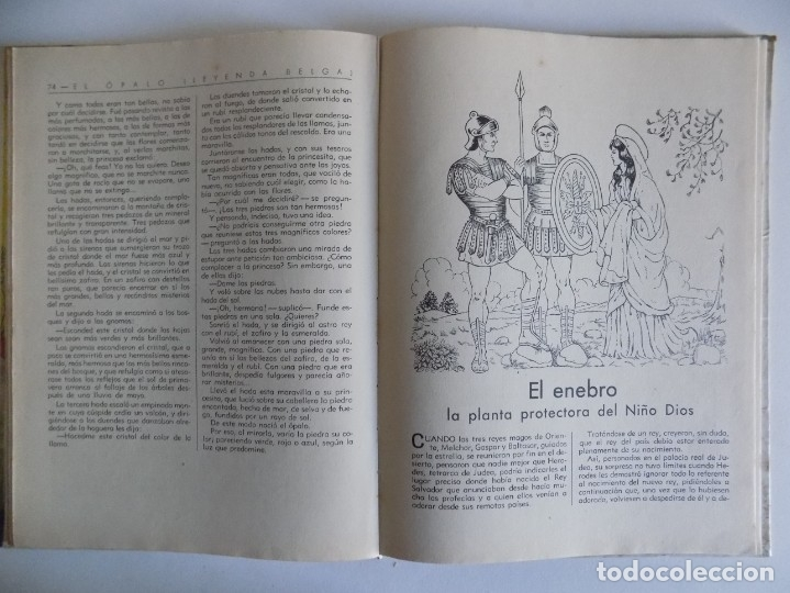 Libros antiguos: LIBRERIA GHOTICA. CUENTOS MARAVILLOSOS DE LA NATURALEZA.1943. FOLIO. MUY ILUSTRADO. - Foto 4 - 178335258