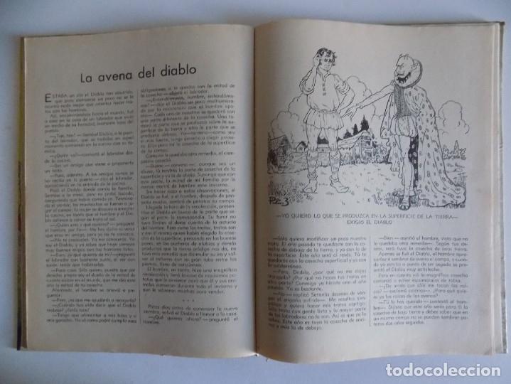 Libros antiguos: LIBRERIA GHOTICA. CUENTOS MARAVILLOSOS DE LA NATURALEZA.1943. FOLIO. MUY ILUSTRADO. - Foto 6 - 178335258