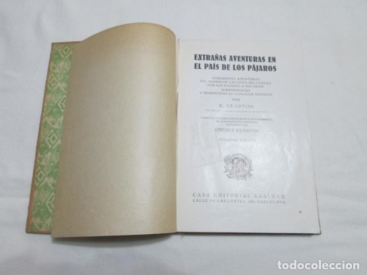 Libros antiguos: EXTRAÑAS AVENTURAS EN EL PAIS DE LOS PAJAROS - R. KEARTON (TRADUCCION) - 193.... - Foto 3 - 178373276