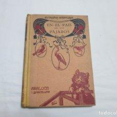 Libros antiguos: EXTRAÑAS AVENTURAS EN EL PAIS DE LOS PAJAROS - R. KEARTON (TRADUCCION) - 193..... Lote 178373276