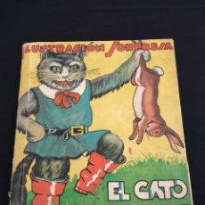 Libros antiguos: EL GATO CON BOTAS EDITORIAL MOLINO ILUSTRACIÓN SORPRESA 1936. Lote 178445471