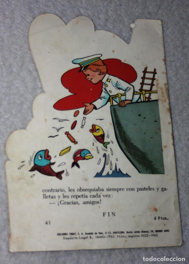 Libros antiguos: CUENTO TROQUELADO, SERIE GUENDALINA, Nº41, (dificil) TORAY - Foto 2 - 178774386