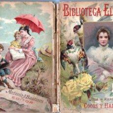 Libros antiguos: JULIA DE ASENSI : CUENTOS DE COCOS Y HADAS (BASTINOS, 1899). Lote 178790063