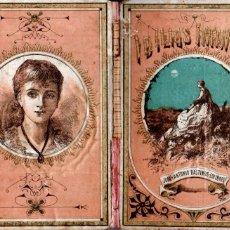 Libros antiguos: DELON : IDILIOS INFANTILES (BASTINOS, 1884). Lote 178790368