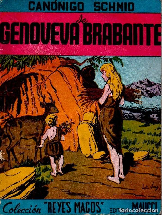 SCHMID : GENOVEVA DE BRABANTE (MAUCCI) (Libros Antiguos, Raros y Curiosos - Literatura Infantil y Juvenil - Cuentos)