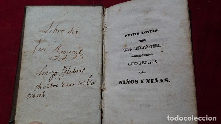 Libros antiguos: CUENTOS CUENTECITOS PARA NIÑOS Y NIÑAS POR CRISTOVAL SCHMID IMPRESO EN 1846 - Foto 2 - 178859208