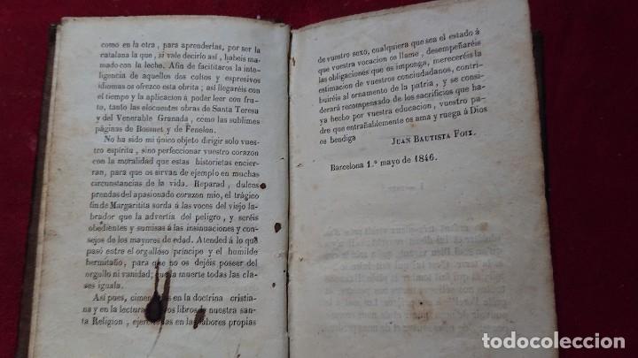 Libros antiguos: CUENTOS CUENTECITOS PARA NIÑOS Y NIÑAS POR CRISTOVAL SCHMID IMPRESO EN 1846 - Foto 5 - 178859208
