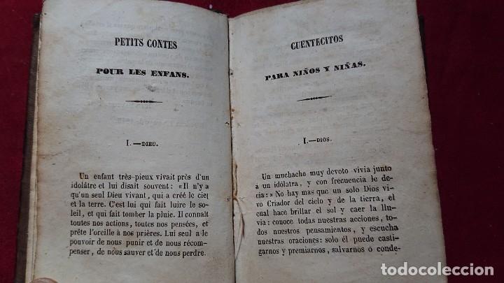 Libros antiguos: CUENTOS CUENTECITOS PARA NIÑOS Y NIÑAS POR CRISTOVAL SCHMID IMPRESO EN 1846 - Foto 6 - 178859208