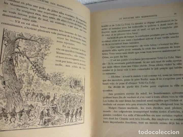 Libros antiguos: Le royaume des Marmousets. Editions Spes Lusanne - Foto 4 - 179048923