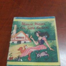 Libros antiguos: BLANCA NIEVES Y LOS SIETE ENANOS N° 5. Lote 179204242