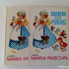 Libros antiguos: CUENTOS DE PERRAULT Nº4. ILUSTRACIONES MARIA PASCUAL.. Lote 179377148