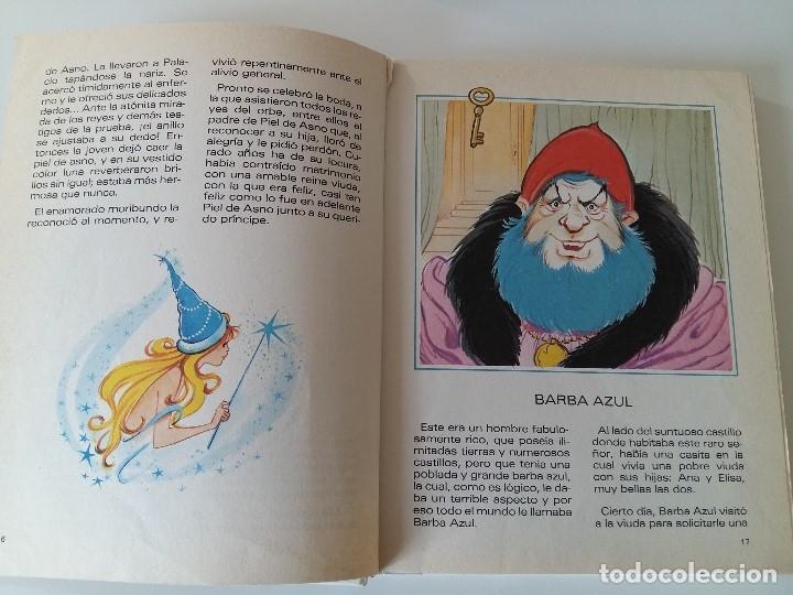 Libros antiguos: Cuentos de Perrault Nº6. Ilustraciones Maria Pascual. - Foto 3 - 179377343