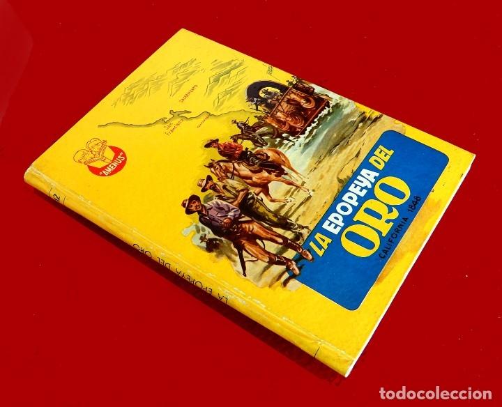 Libros antiguos: LA EPOPEYA DEL ORO. COLECCIÓN AMENUS - POR; F. PRADO Y TOMAS PORTO - CON ERROR - EDIT. CIES, AÑOS 50 - Foto 2 - 180196816