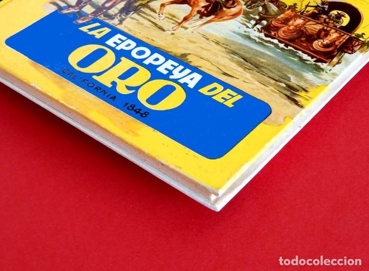 Libros antiguos: LA EPOPEYA DEL ORO. COLECCIÓN AMENUS - POR; F. PRADO Y TOMAS PORTO - CON ERROR - EDIT. CIES, AÑOS 50 - Foto 7 - 180196816