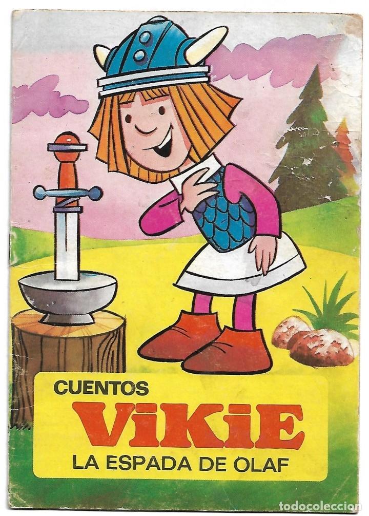 VIKIE LA ESPADA DE OLAF - CUENTO ORIGINAL DE BRUGUERA 1976 - LEER (Libros Antiguos, Raros y Curiosos - Literatura Infantil y Juvenil - Cuentos)