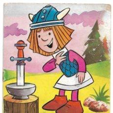 Libros antiguos: VIKIE LA ESPADA DE OLAF - CUENTO ORIGINAL DE BRUGUERA 1976 - LEER TODO. Lote 180387681
