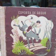 Libros antiguos: CUENTO INFANTIL MEMORIAS DE UN BURRO CONDESA DE SEGUR AGUILAR 1950. Lote 180406203