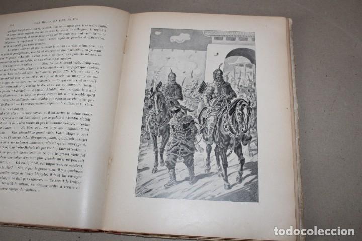 Libros antiguos: LES MILLE ET UNE NUITS DES FAMILLES CUENTOS TRADUCIDOS POR GALLAND. GARNIER 1923 (EN IDIOMA FRANCES) - Foto 10 - 180461277