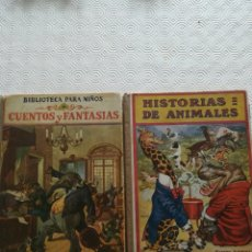 Libros antiguos: 2 CUENTOS ANTIGUOS RAMÓN SOPENA AÑO1941. Lote 180857095