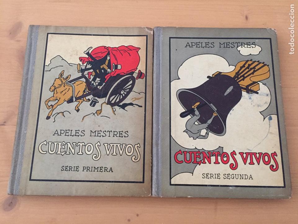 CUENTOS VIVOS - 1929 - APELES MESTRES (Libros Antiguos, Raros y Curiosos - Literatura Infantil y Juvenil - Cuentos)