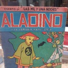 Libros antiguos: ANTIGUO CUENTO INFANTIL ALADINO LAS MIL Y UNA NOCHES REYES MAGOS MAUCCI. Lote 180949296