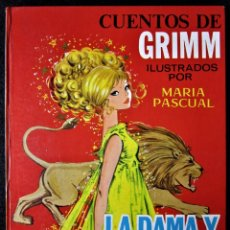 Libros antiguos: CUENTOS DE GRIMM Nº 34 - LA DAMA Y EL LEÓN - EL LOBO Y EL HOMBRE - EDICIONES TORAY 1968. Lote 181121141