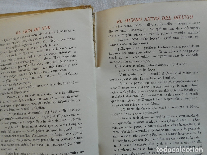 Libros antiguos: El Arca de Noe - Ilustr. de Joan LLaverias - Juventud, 1930 - Foto 6 - 181177092