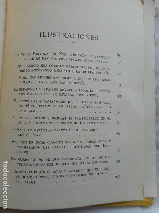 Libros antiguos: El Arca de Noe - Ilustr. de Joan LLaverias - Juventud, 1930 - Foto 13 - 181177092