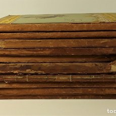 Libros antiguos: BIBLIOTECA PATUFET. 10 EJEMPLARES. J. M. FOLCH. EDIT. J. BAGUÑÁ. 1914/19.. Lote 181337298