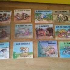 Libros antiguos: ERASE UNA VEZ.... EL CASERÍO. COLECCIÓN COMPLETA DE 12 CUENTOS. 1989. Lote 181572175