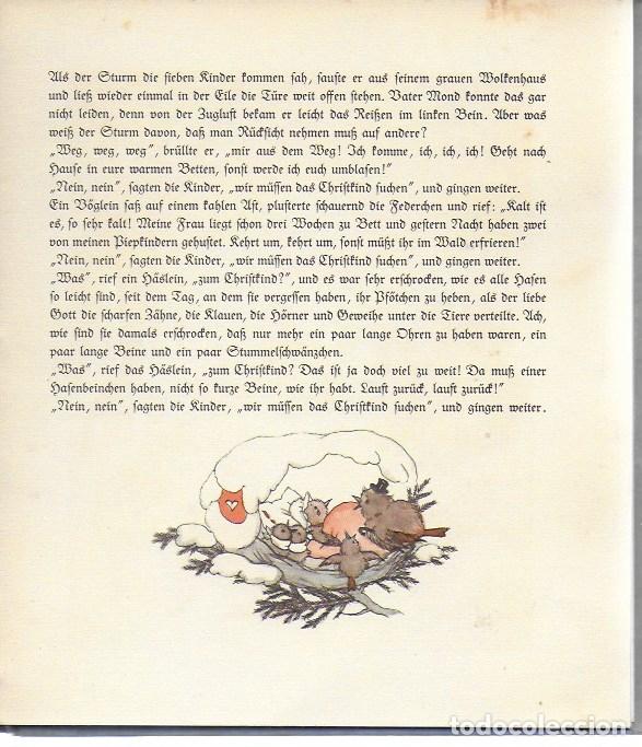 Libros antiguos: DAS ARME JESULEIN Gemalt Und Geschrieben Von Ida Bohatta-Morpurgo. VERLAG JOSEF MULLER, MUNCHEN, - Foto 6 - 182045295