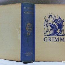 Libros antiguos: DE SPROOKJES VAN GRIMM (LOS CUENTOS DE HADAS DE GRIMM).UTRECHT,AÑOS 40.ILUST:ANTON PIECK. Lote 182149525