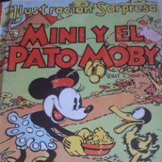 Libros antiguos: MINI Y EL PATO MOBY 1934 CUENTO TROQUELADO. Lote 182378300