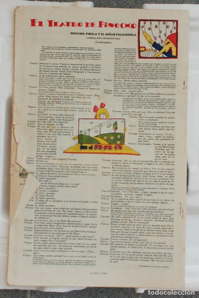 Libros antiguos: PINOCHO SEMANARIO INFANTIL ED. CALLEJA AÑO I Nº 22 19 DE JULIO DE 1925. - Foto 4 - 182642856