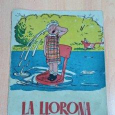 Libros antiguos: INEDITO CUENTO, LA LLORONA. NARRACION INFANTIL. ESTRELLA. Lote 195489042