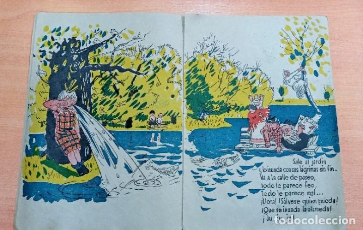 Libros antiguos: INEDITO CUENTO, LA LLORONA. NARRACION INFANTIL. ESTRELLA - Foto 4 - 195489042